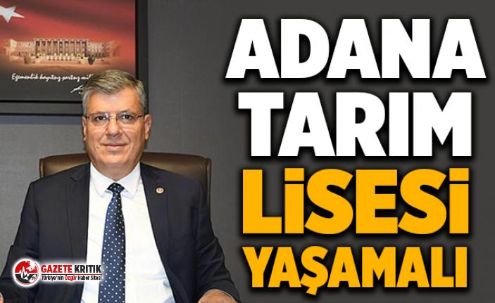 ADANA TARIM LİSESİ YAŞAMALI