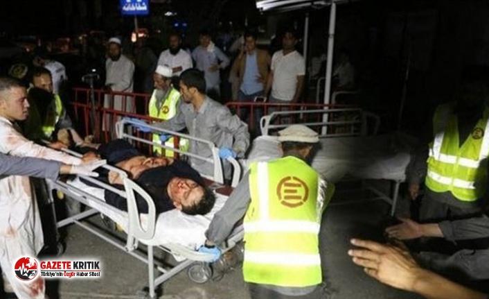 Afganistan'da düğün salonunda patlama: En az 63 ölü 182 yaralı