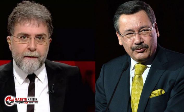 Ahmet Hakan ile Melih Gökçek'in Mansur Yavaş atışması: Mansurcuyum, çatla Melih