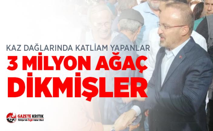 AK Partili Turan: 2018 yılında Çanakkale'ye 3...