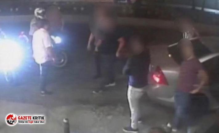 Aksaray'da gece kulübü önündeki dehşetin görüntüleri ortaya çıktı