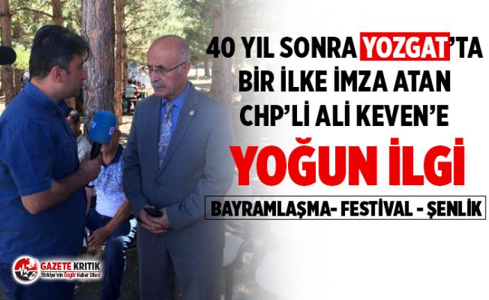 ALİ KEVEN'E BAYRAM ve ŞENLİK ZİYARETLERİNDE...