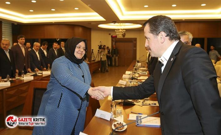 Bakan Selçuk ile Memur-Sen Genel Başkanı Yalçın yeni zam teklifi için bir araya geldi