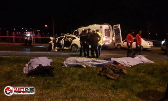 Bakan Soylu: 7 kişinin öldüğü kaza ile ilgili firari sürücü için yakalama emri var