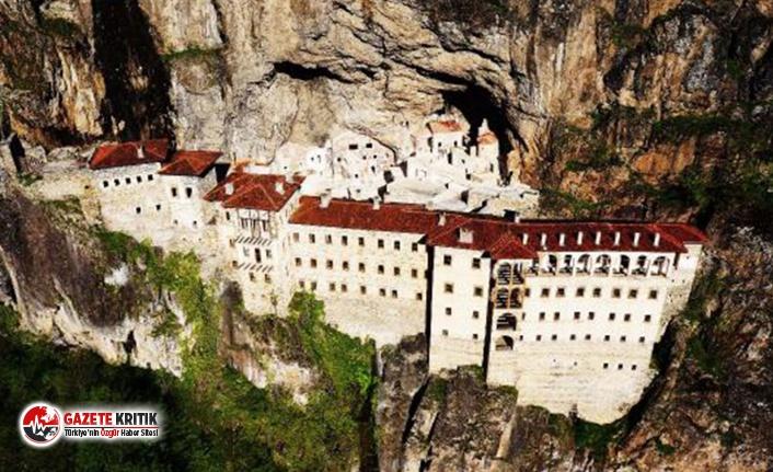 Bakanlık, Sümela Manastırı'na ait eserlerin...