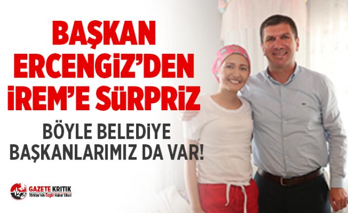 Başkan Ercengiz'den İrem'e Doğum günü sürprizi