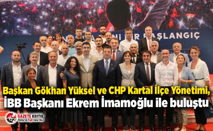 Başkan Gökhan Yüksel ve CHP Kartal İlçe Yönetimi,...