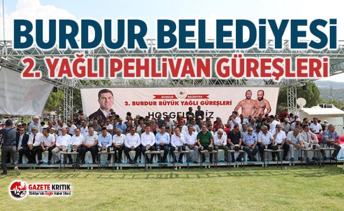 Burdur Belediyesi 2. Yağlı Pehlivan Güreşleri