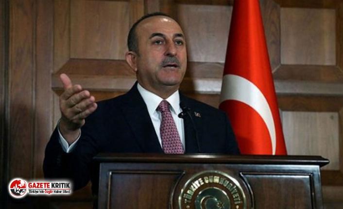 Çavuşoğlu: ABD hâlâ YPG'ye silah yardımı...