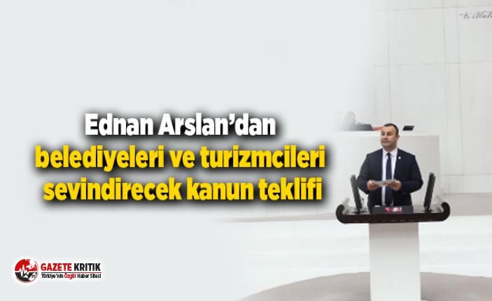 CHP İzmir Milletvekili Ednan Arslan'dan belediyeleri...