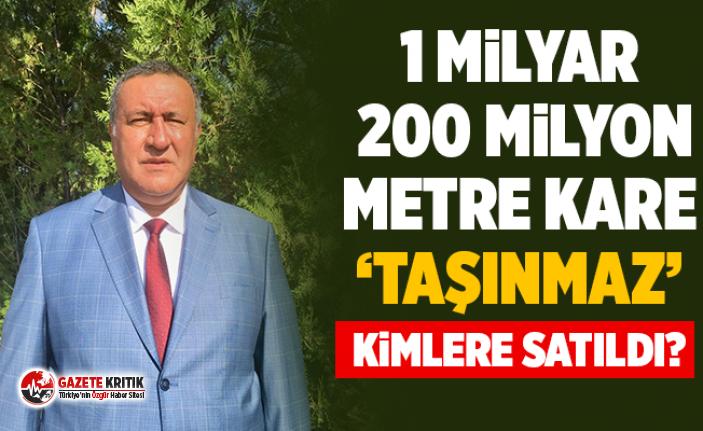 """CHP'li Gürer: """"Hazine arazilerini parsel parsel satıyorlar!"""""""