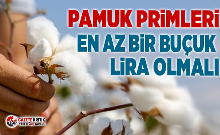 CHP'Lİ SÜLEYMAN BÜLBÜL:PAMUK PRİMLERİ EN...