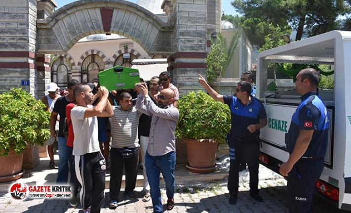 Devran Çağlar, Marmaris'te toprağa verildi