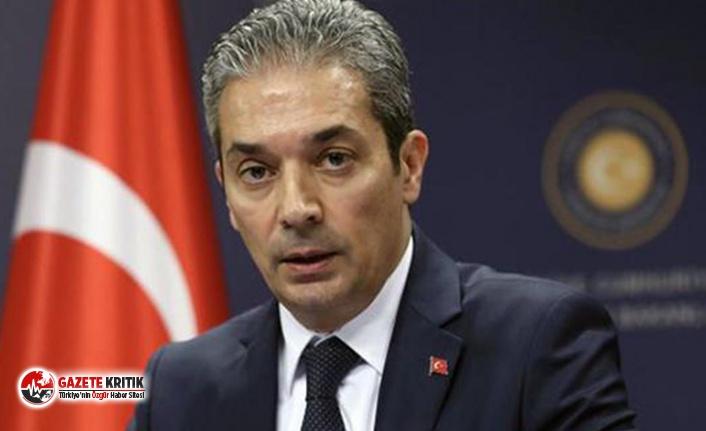 Dışişleri Bakanlığı Sözcüsü Aksoy: Görüşmeler...
