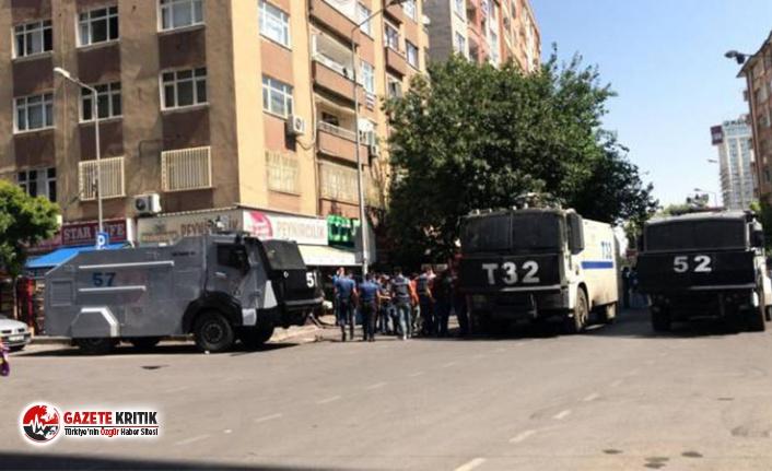 Diyarbakır'da polis ablukasında kayyım gerilimi...