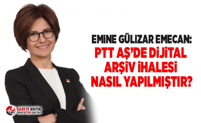 Emine Gülizar EMECAN:PTT AŞ'de dijital arşiv...
