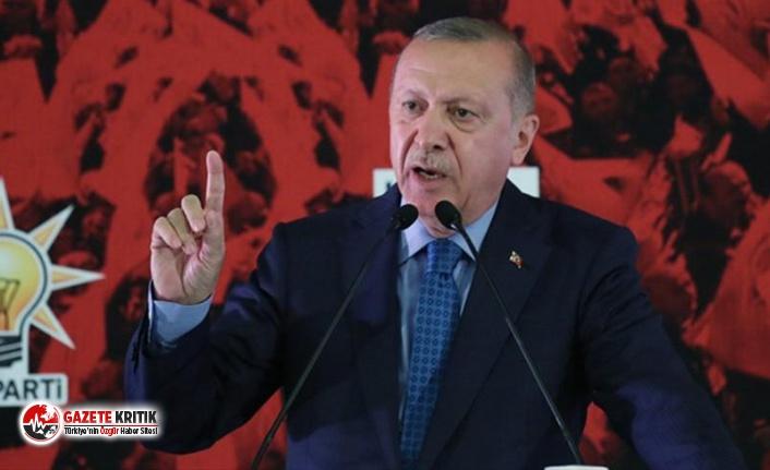 Erdoğan:Biz tehdit mehdit dinlemeyiz