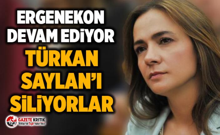 Ergenekon devam ediyor: Türkan Saylan'ın izini...