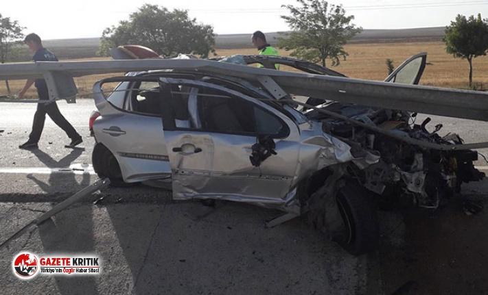 Feci kaza: 3'ü çocuk 5 kişi yaralandı
