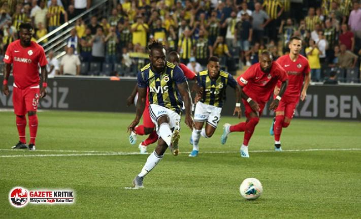 Fenerbahçe - Gazişehir Gaziantep: 5-0