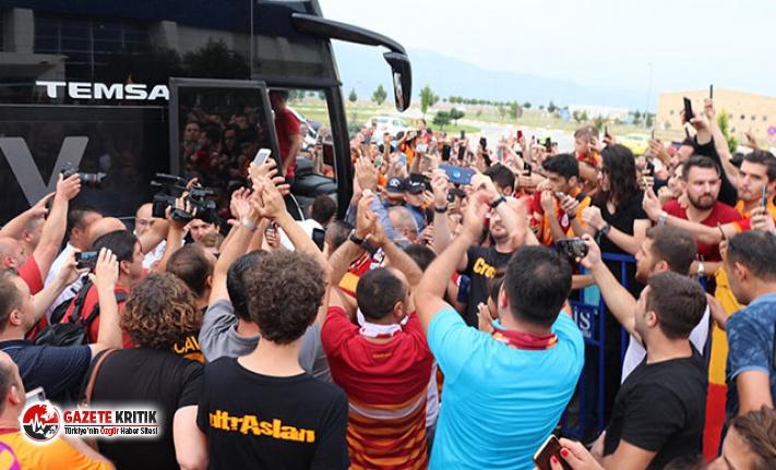 Galatasaray Falcao tezahüratıyla Denizli'de