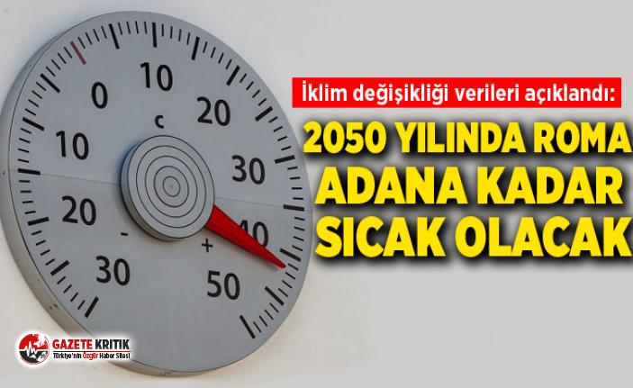 İklim değişikliği verileri açıklandı: 2050...