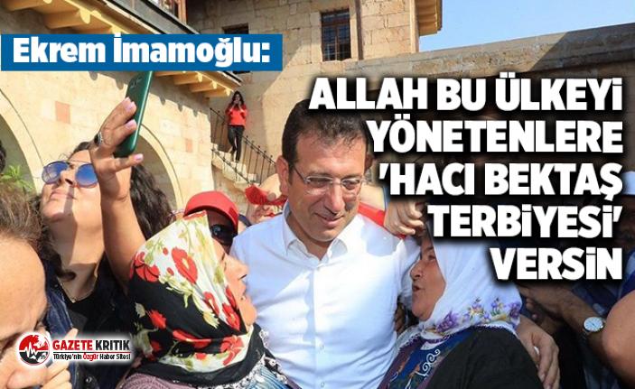 İmamoğlu: Allah bu ülkeyi yönetenlere 'Hacı...