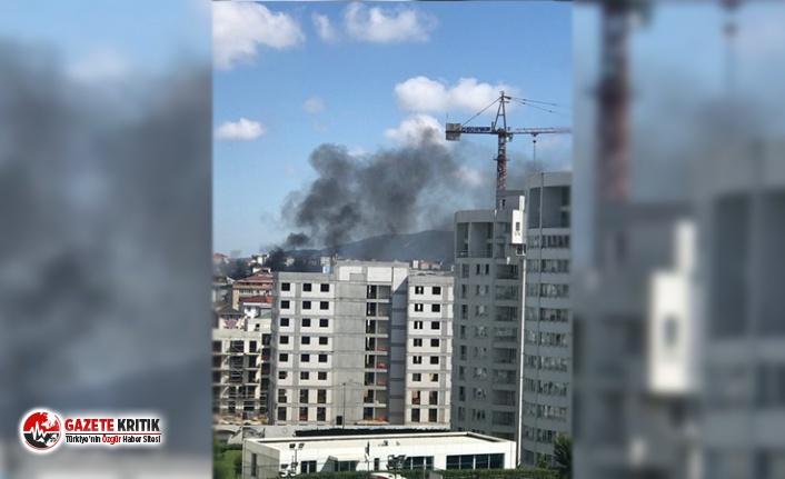 İstanbul'da 6 katlı bir binada doğalgaz patlaması