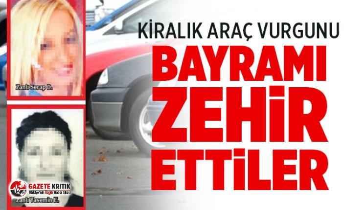 İstanbul'da kiralık araç vurgunu ! Bayramı...
