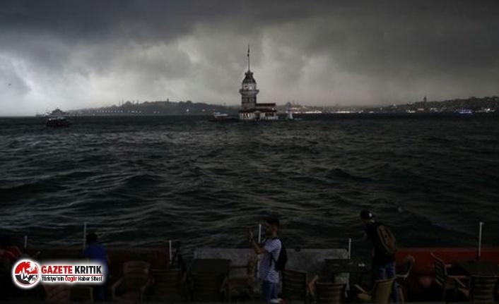 İstanbul için 'süper hücre yağışı'...