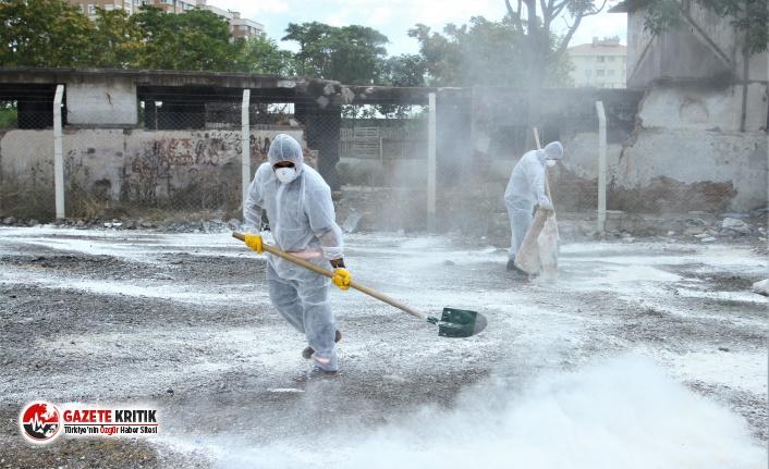 Kartal'da Temizlik Çalışmaları Tam Gaz Devam Ediyor