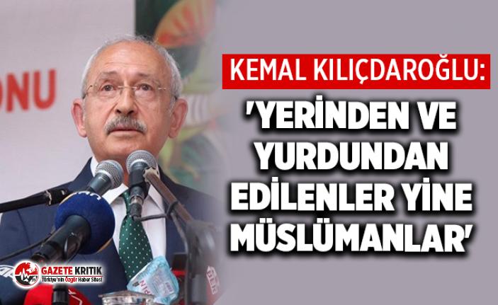Kılıçdaroğlu: Açlık ve kıtlık yaşanan bölgelerin...