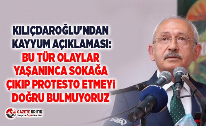 Kılıçdaroğlu'ndan kayyum açıklaması: Bu...