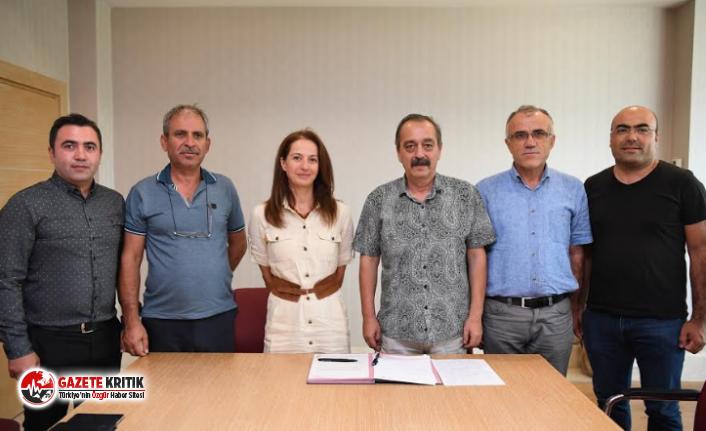 Konyaaltı'nda hayvancılığa destek protokolü