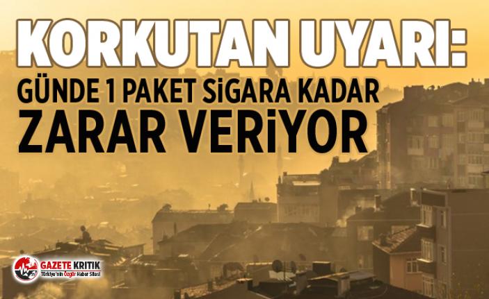 Korkutan uyarı: Günde 1 paket sigara kadar zarar veriyor