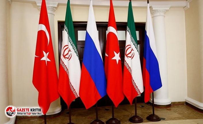 Kremlin doğruladı: Suriye konulu üçlü zirve eylülde...