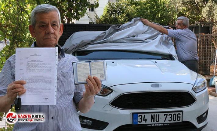 Kullandığı otomobilin sahte belgelerle satıldığını...