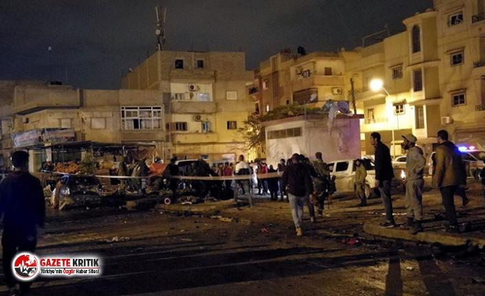 Libya'da bomba yüklü araçla saldırı: 2 BM...