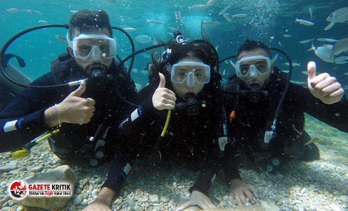 Lübnanlılardan su ve dalış sporlarına ilgi