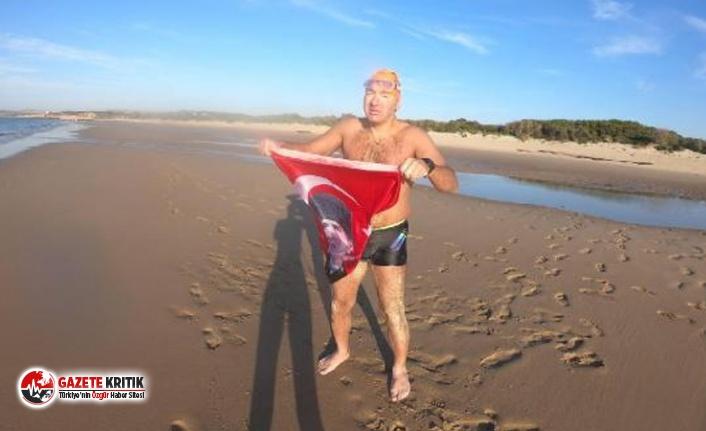 Manş Denizi'ni yüzerek geçen Deliveli: Zihinsel kuvvetimi koruyup ısrarlı bir şekilde devam ettim