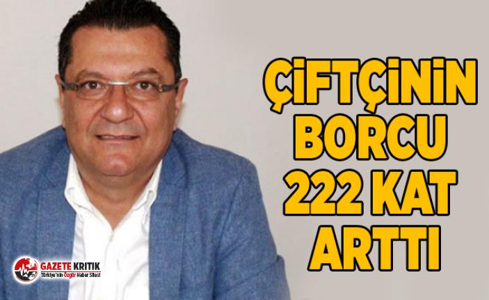 Mehmet Göker:Çiftçinin borcu 222 kat arttı