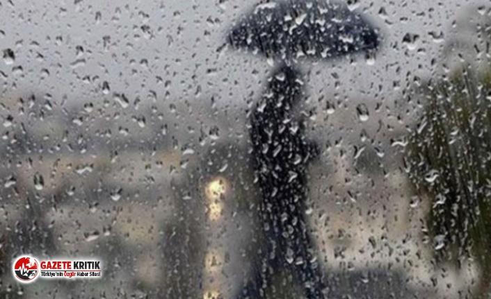 Meteoroloji'den çok sayıda il için yağış...