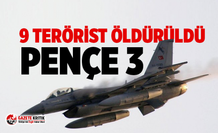 Milli Savunma Bakanlığı: Pençe 3 Harekatı'nda...