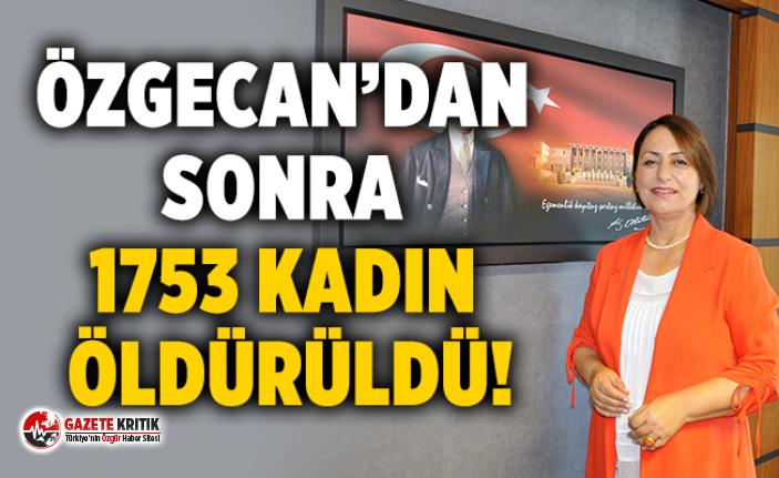 """Müzeyyen Şevkin:""""Son 11 yılda 2975 kadın öldürüldü!"""""""