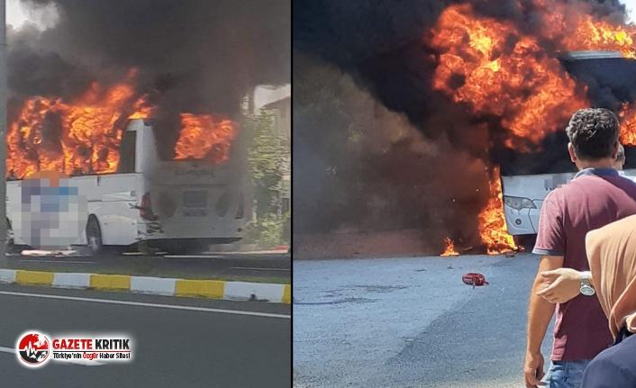 Otobüslerdeki yangınların sebebi aşırı elektronik...