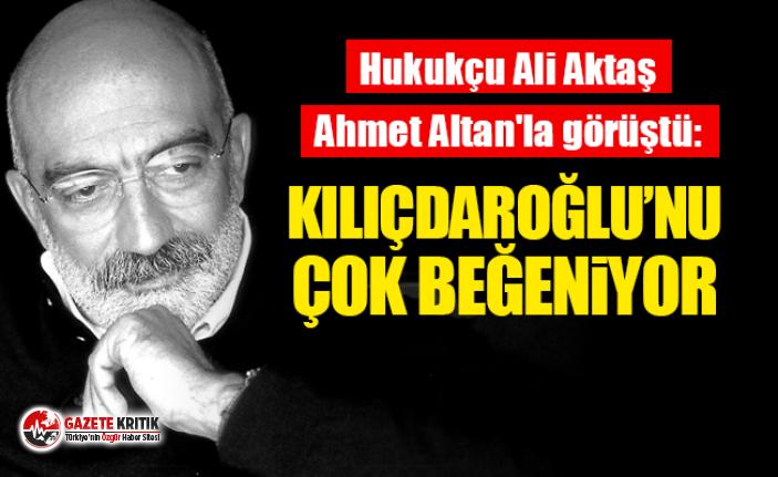Saadet Partili hukukçu Ali Aktaş'ın geçen...