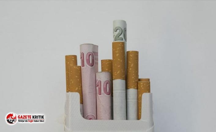 Sigaradan alınan asgari maktu vergiler yüzde 34.7...