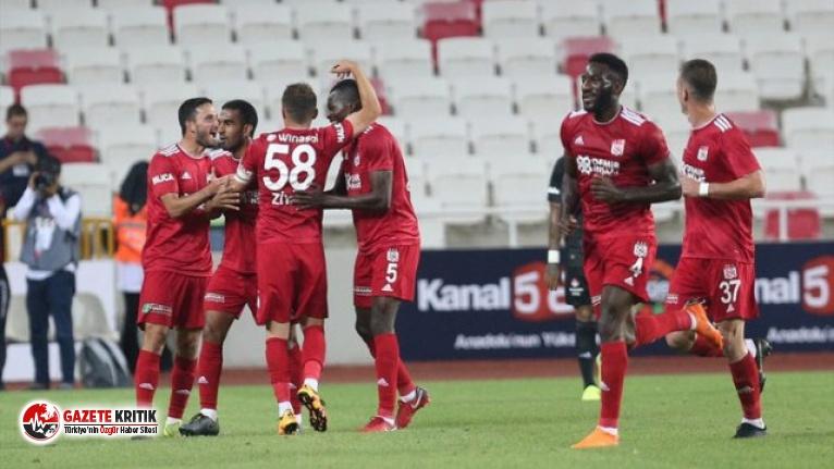 Sivasspor 3 - 0 Beşiktaş