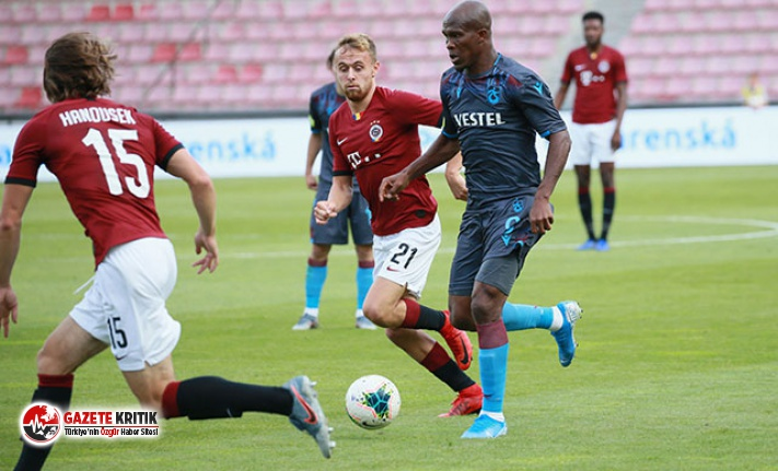 Sparta Prag - Trabzonspor: 2 - 2