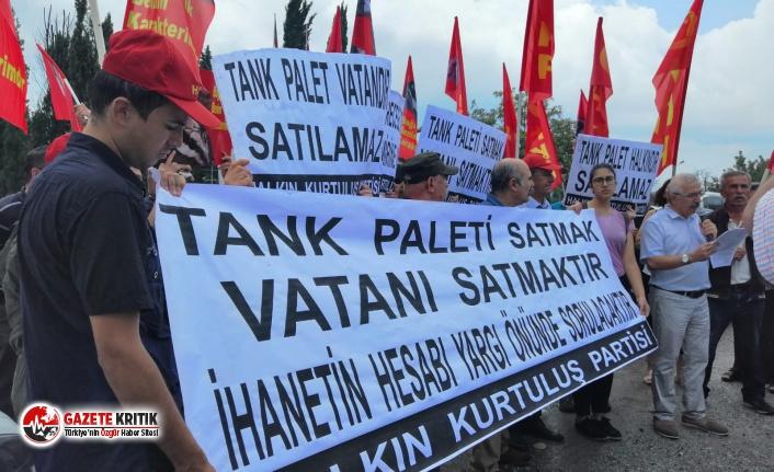 Tank Palet Fabrikası Önünde Eylem